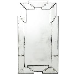 Estelle Mirror in Antique Mirror Glass