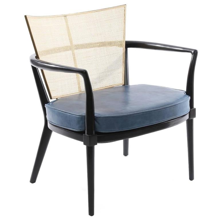 Bert England for Johnson Ebonized Lounge Chair
