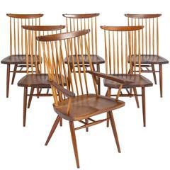 Set of Six Nakashima New Chairs