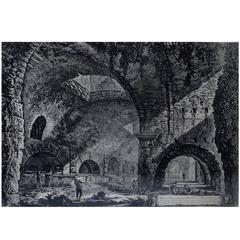 Piranesi, Engraving, 19th-20th Century