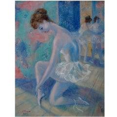 E. Strada, Paris, Unknown Artist, Ballerina, circa 1960s