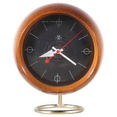 George Nelson Chronopak Orb Desk Clock for Howard Miller