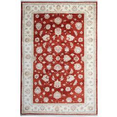 Deep Red Rug, Oriental Rugs Carpet from Afghanistan