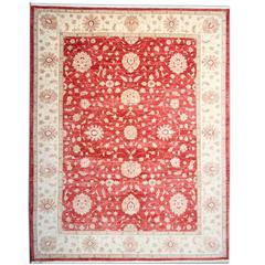 Ziegler Red Rug, Oriental Rugs Carpet from Afghanistan