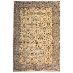 Handmade Carpet Oriental Rug Floral Rugs as Living Room Rugs for Sale