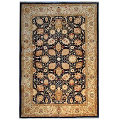 Blue Rug Persian Style Rugs Gold Living Room Rugs with Persian Rugs Design