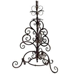 Late 18th Century Cast Iron Candelabra
