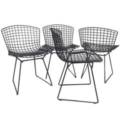 Harry Bertoia for Knoll Wire Side Chairs