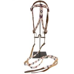 Native American Bridle/Head Stall, Sioux, 20th Century