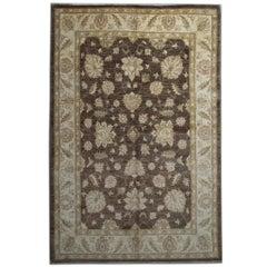 Oriental Rug Hand Made Carpet Floral Design Living Room for Sale