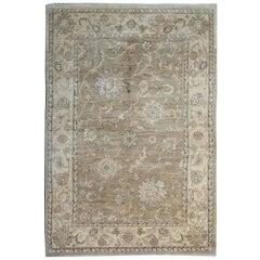 Brown Oriental Rug, Ziegler Inspired Living room Rugs Persian Rugs Design Style