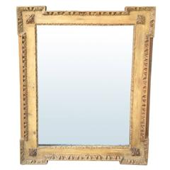 George III Style Neoclassical Mirror, 18th-19th Century