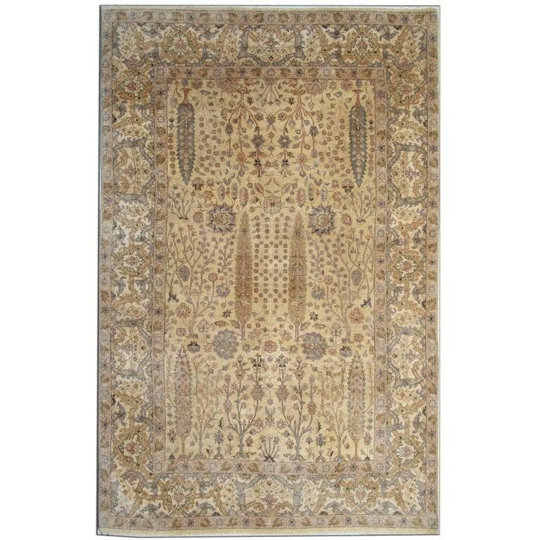 Garden Gold Rug Ziegler Inspired Living Room Rugs With Persian Design For