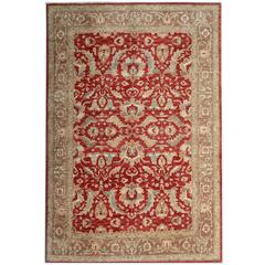 Red Ziegler Mahal Oriental Rugs, Carpet from Afghanistan