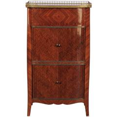 20th Century French Two-Door Cabinet with Single Drawer