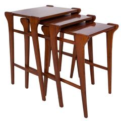 Set of 1960s Jacaranda Nesting Tables