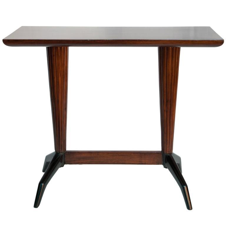 1950s Console Table in Jacaranda Wood