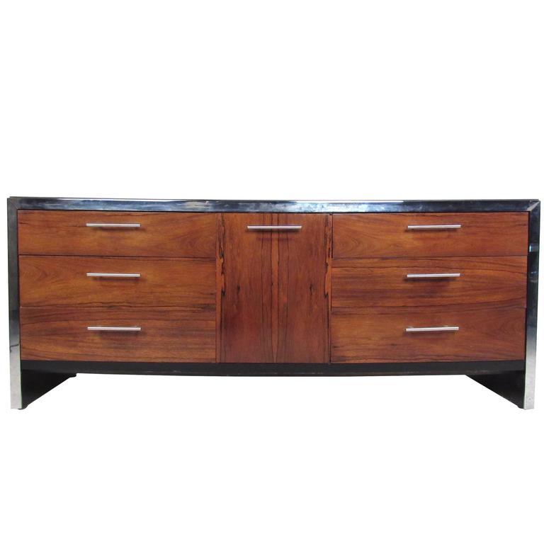 Milo Baughman Rosewood Dresser for John Stuart