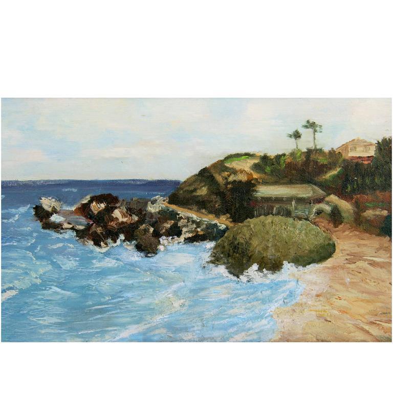 """California Coastline"" Painting"