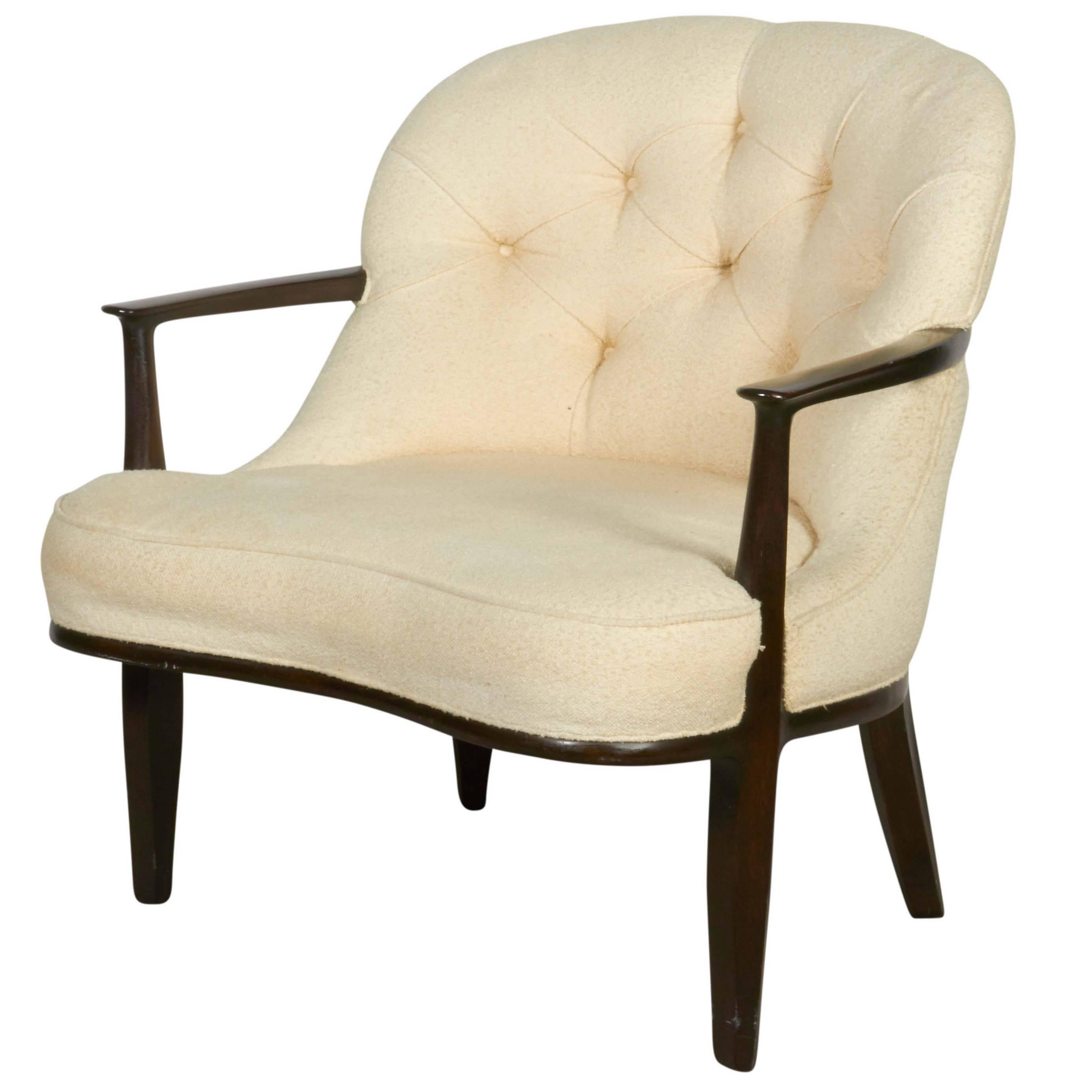 Edward Wormley 'Janus' Armchair for Dunbar