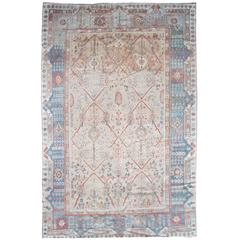 Antique Turkish Ghiordes Rug