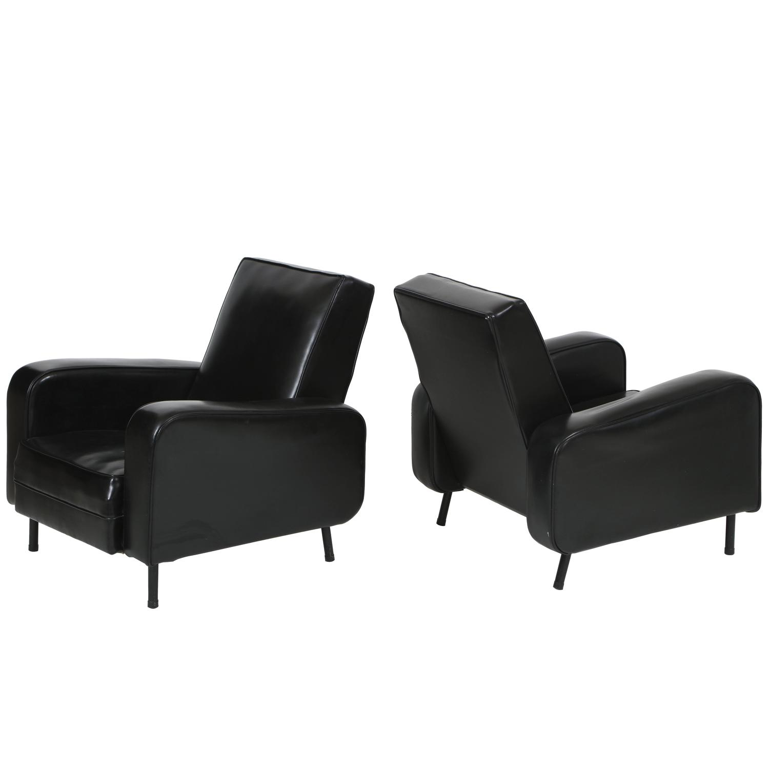 black leather with contemporary ottoman gallery chair faux