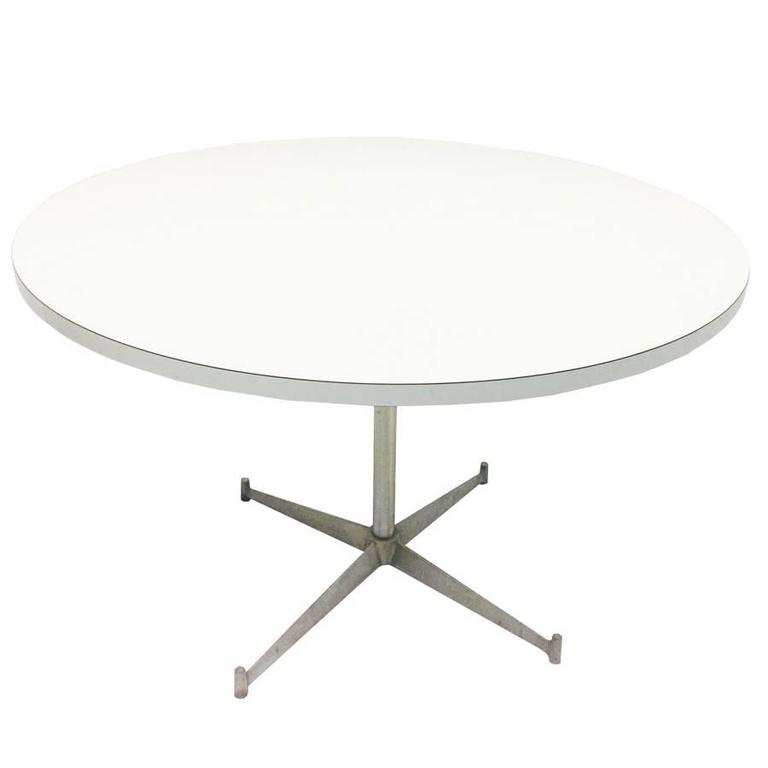Paul Mccobb Round Laminate Dining Table For Directional