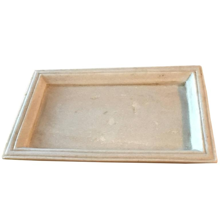 Marble Serving Tray, Contemporary, India