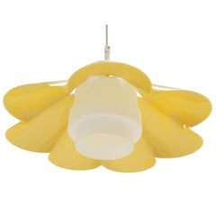 Refreshing Scandinavian Mid-Century Ceiling Light, 1970s