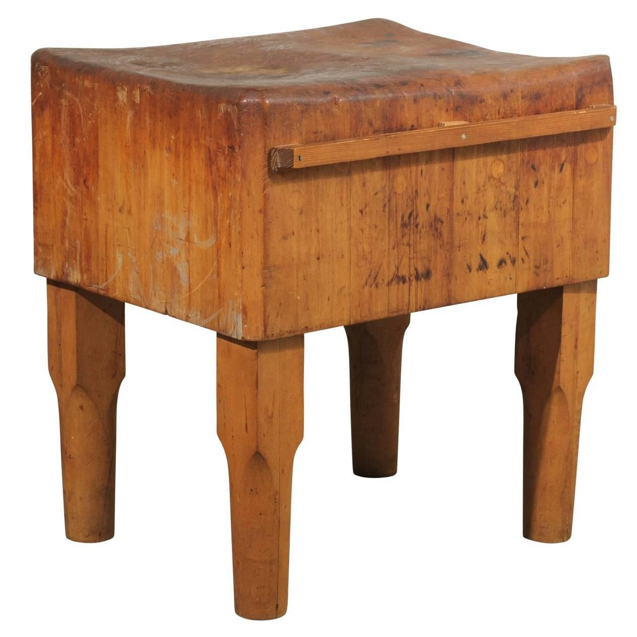 american butcher block table for sale at 1stdibs