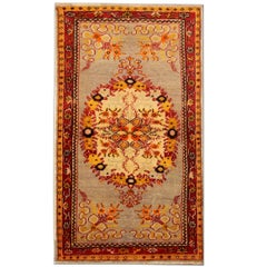 Antique Turkish Rugs Oriental Antique Rugs, Gold Rug from Anatolia Floor Rug