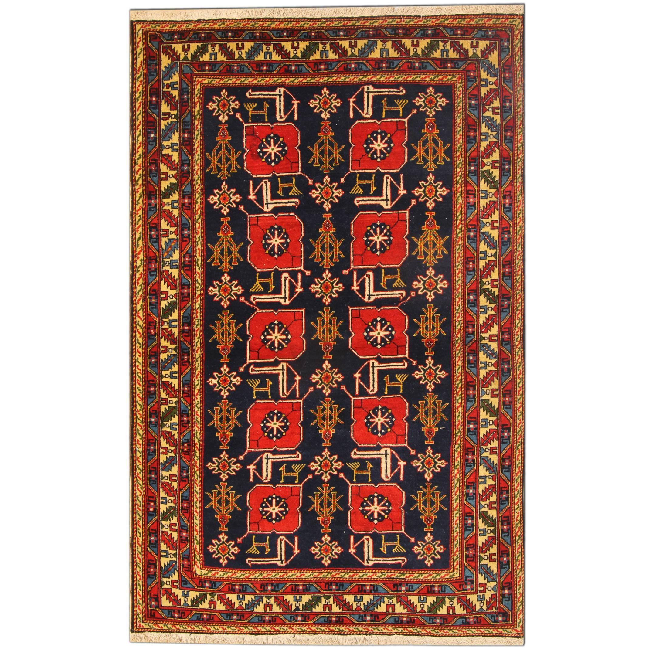 Antique Rugs, Karabagh Antique Oriental Rugs, Caucasian Carpet