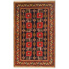 Antique Caucasian Karabagh Karaghashli Rug