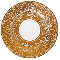 Set of 24 Le Tallec Hand-Painted Porcelain Service Plates