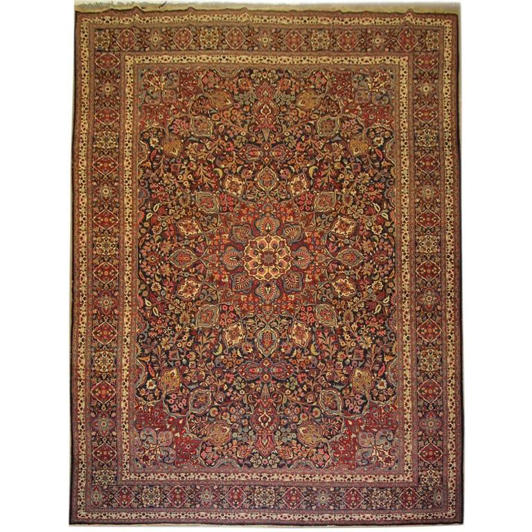 antique rugs, persian carpet, persian rugs, mashhad carpet khorassan Antique Rugs