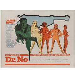 """""""Dr. No"""" US Movie Poster"""