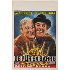 Lavender Hill Mob, Belgian Movie Poster