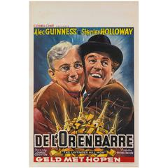 Lavender Hill Mob, Belgian Movie Poster
