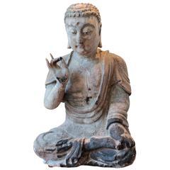 16th Century Chinese Ming Dynasty Seated Meditating Amitabha Buddha