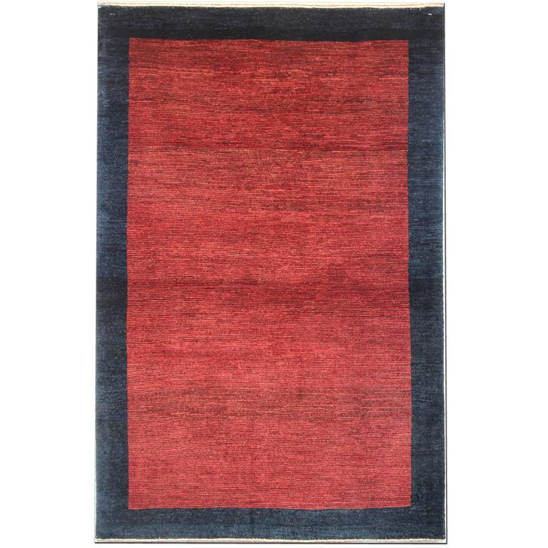 Persian Red Rugs, Plain Gabbeh Rugs, Carpet from Iran