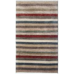 Fine Contemporary Modern Striped Design Rug