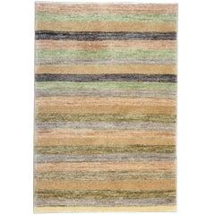 Fine Carpet  Contemporary Modern Striped Design Rug