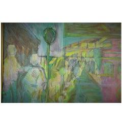 Abstract Walking Painting