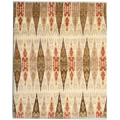 Hand woven Carpet  Primitive Living Room Rugs, Contemporary Modern Rugs