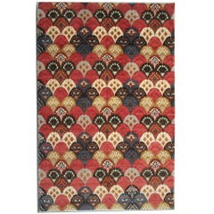 Oriental Rug, Hand Made Carpet Modern Rugs, Contemporary Carpet from Afghanistan