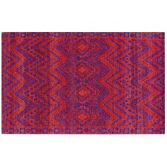 Hand-Knotted Weave Rug