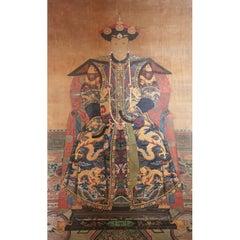 Qing Dynasty Ancestor Portrait