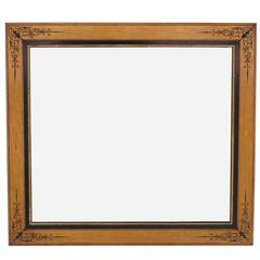 Decorated Square Wall Mirror
