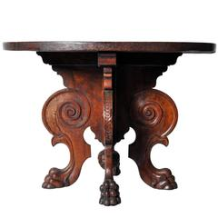 Italian Renaissance Style Center Table