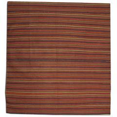 Antique Striped Persian Jajim